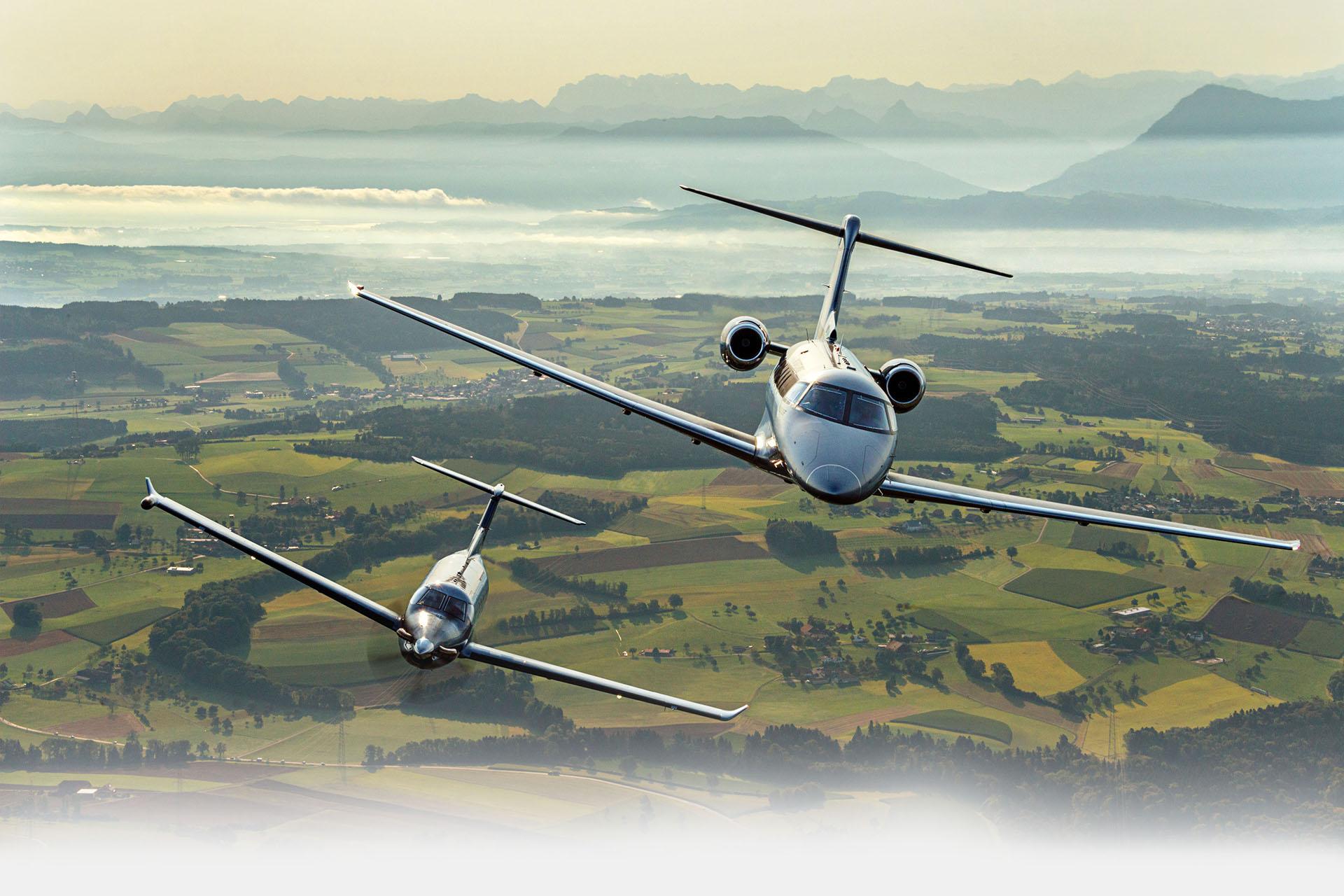 Pilatus PC-24 und Pilatus PC-12 NG